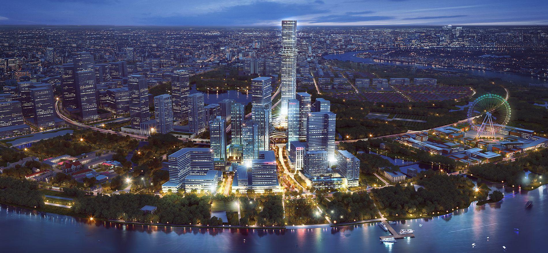 Toàn cảnh dự án Empire City
