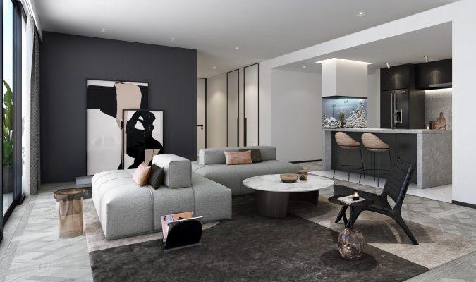 Bán căn hộ Empire City 4 phòng ngủ
