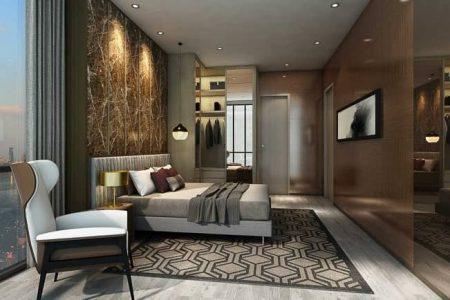 Căn hộ Empire City 3 phòng ngủ bedroom