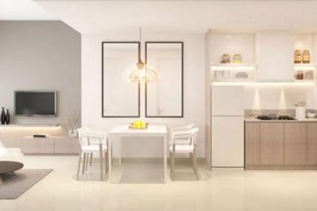Căn hộ Empire City 3 phòng ngủ phòng bếp