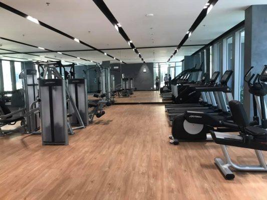 Empire City phòng gym 2