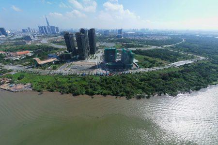 cảnh thực tế dự án Empire City